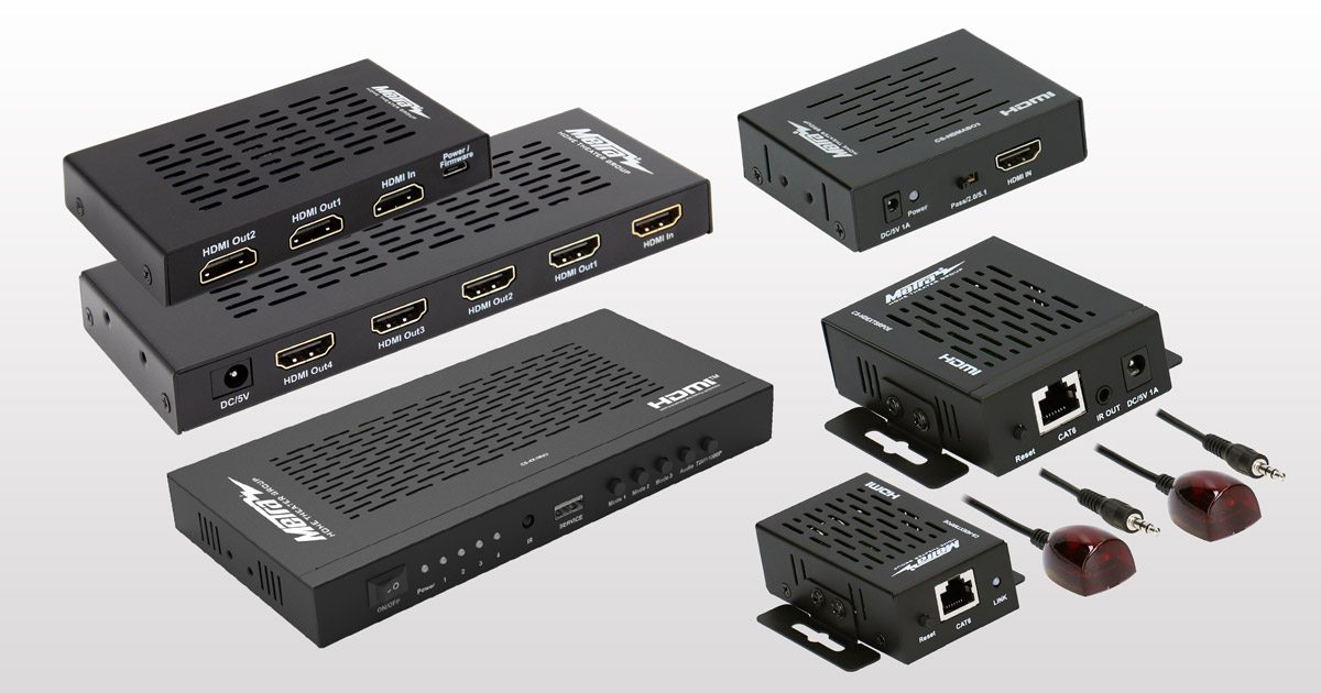 AV Distribution Product Photos