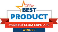 CEPro 2019 Award Winner