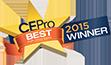 CEPro 2015 Award