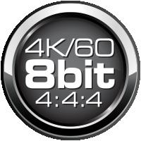 4K/60 8 bit 4:4:4