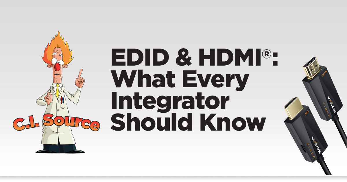 EDID and HDMI