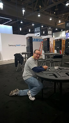 Anthony at CES