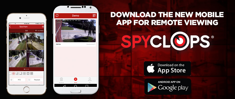 Spyclops Mobile App