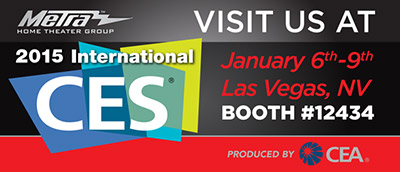 Visit Us At 2015 CES Booth #12434
