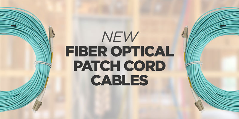 New Fiber Optical Patch Cord Cables