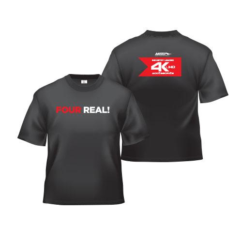 4K Black T-Shirt