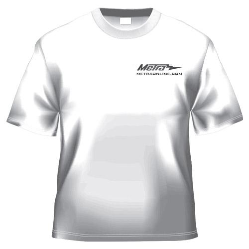 Metra White T-Shirt
